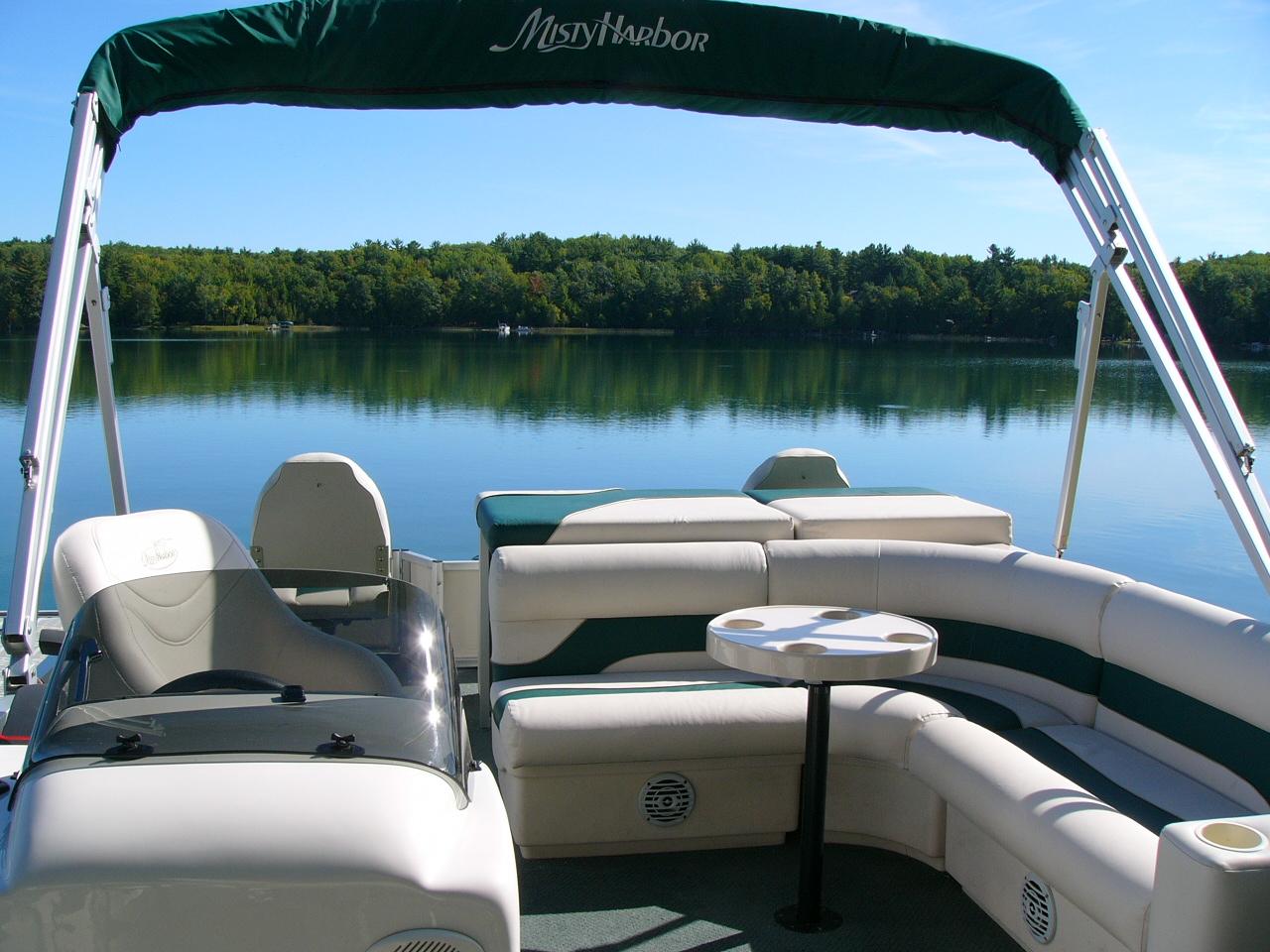 Pontoon Boat Rental On Lake Ann - Lakeview Property